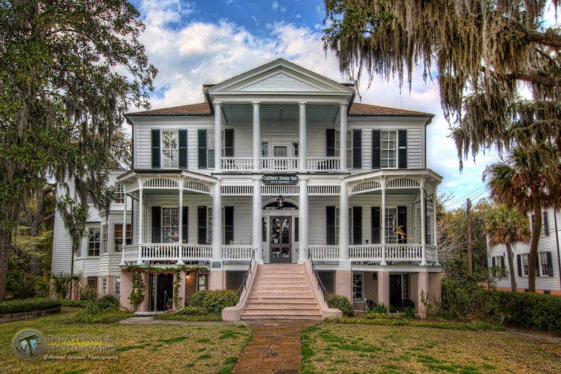 Historic Cuthbert House Inn Beaufort South Carolina
