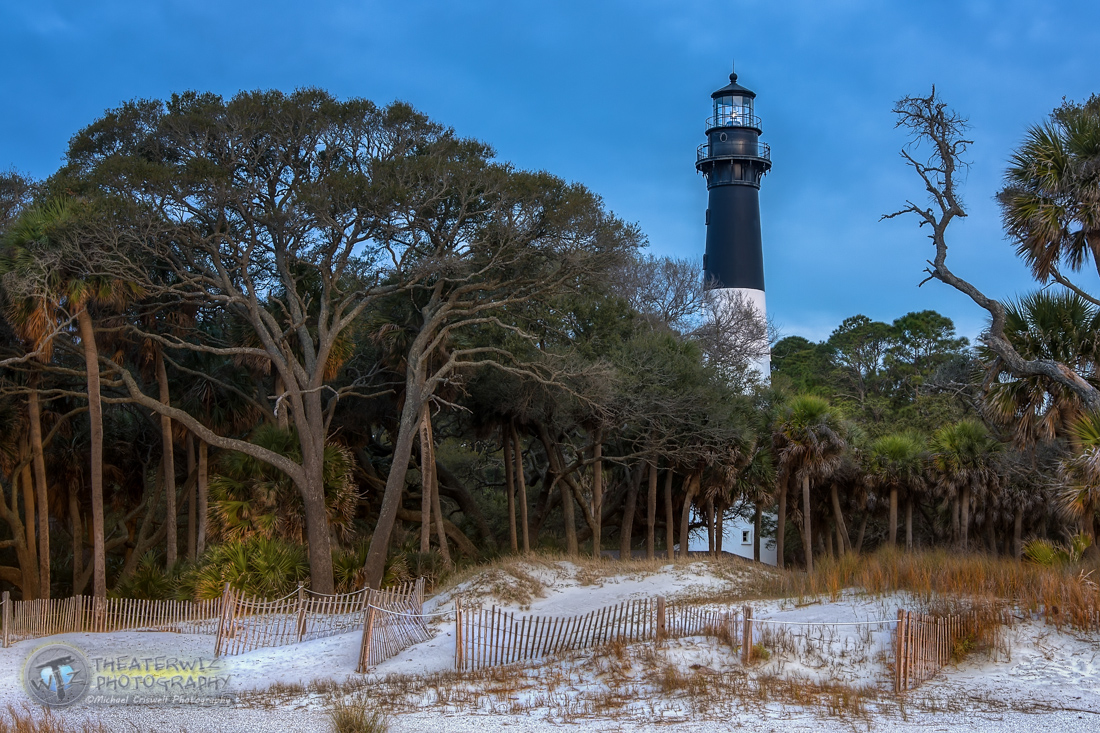 Hunting Island Lighthouse-Hunting Island State Park, South Carolina